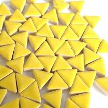 Ceramic Triangle - Citrus Yellow - 50g
