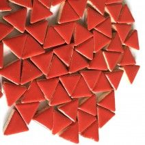 Ceramic Triangle - Poppy Red - 50g