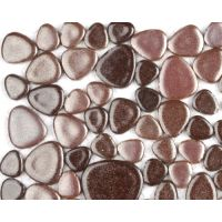Free Form Pebble Tiles - Creole Cocoa