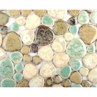 Free Form Pebble Tiles - Retro Rock