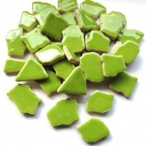 Jigsaw Ceramic - Bright Green - 500g