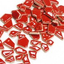 Jigsaw Ceramic - Red - 500g