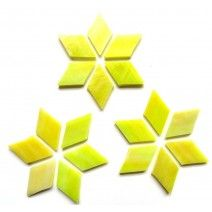 Large Diamond - Lemongrass - 20pcs (approx. 25g)