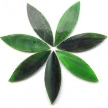 Large Petal - Olive Grove - 7 Pieces (25g)