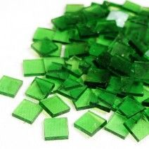 Mini Stained Glass - Clear Acid Green - 50g