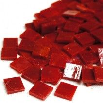Mini Stained Glass - Deep Red - 50g