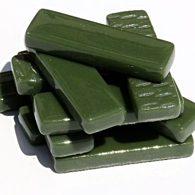 Rectangles - Dark Green Gloss - 50g