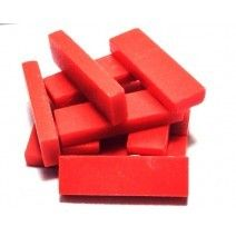 Rectangles - Red Matte - 50g