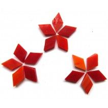 Small Diamond - Deep Red -   18pcs (approx. 10g)