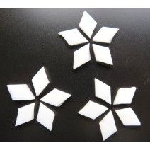 Small Diamond - Pure White - 18pcs (approx. 10g)