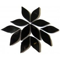 Small Petals - Pure Black - 12 Pieces (25g)
