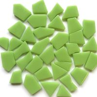 Snippets Glass Shapes - Apple Green - 100g