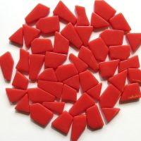 Snippets Glass Shapes - Coral Red - 100g