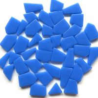 Snippets Glass Shapes - Cornflower Blue - 100g