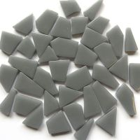 Snippets Glass Shapes - Light Grey - 100g