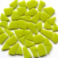 Snippets Glass Shapes - Lime Green - 100g