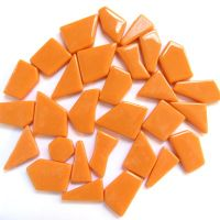 Snippets Glass Shapes - Orange - 100g