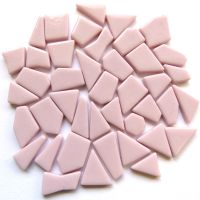 Snippets Glass Shapes - Pale Pink - 100g