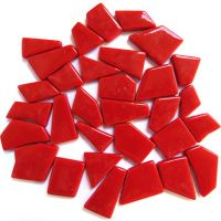 Snippets Glass Shapes - Red - 100g