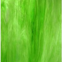 Stained Glass Strips - Lime Green Wispy