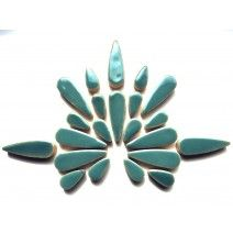 Teardrop - Teal Green - 50g