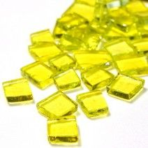 Transparent Glass - Bright Yellow - 100g