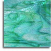 Turquoise Lime Swirl (20x30cm)