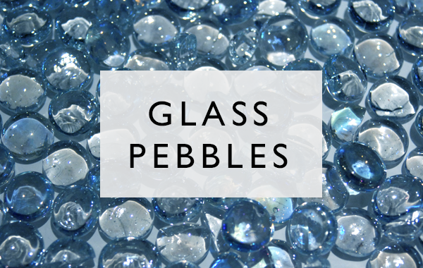click here to see our glass pebbles range